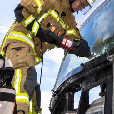 Ausbildung Technische Hilfeleistung nach LKW-Unfall